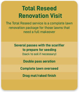 total reseed renovation visit